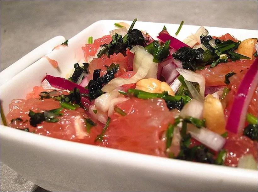 salade pomelos thai