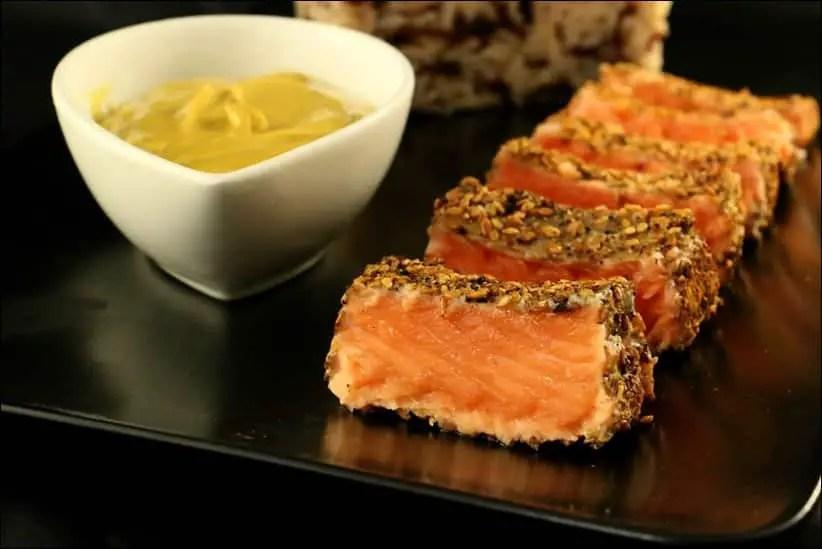 saumon aux épices