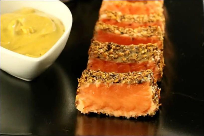 saumon sauce satay