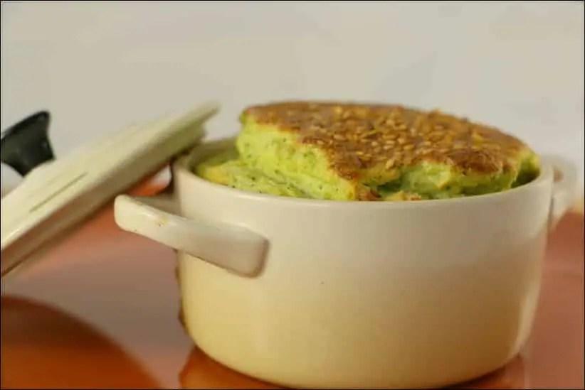 soufflés au brocolis