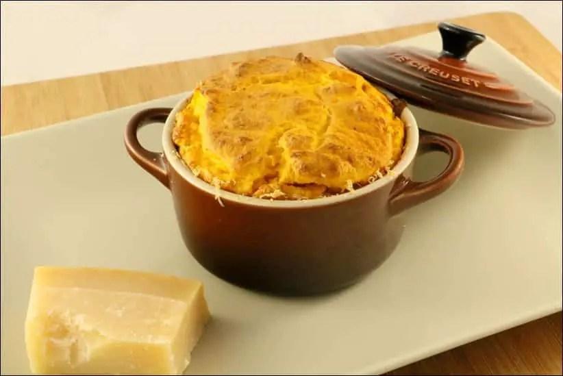 soufflé potimarron parmesan