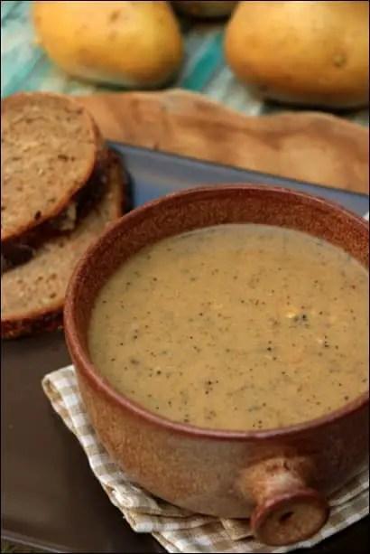 recette soupe au reblochon