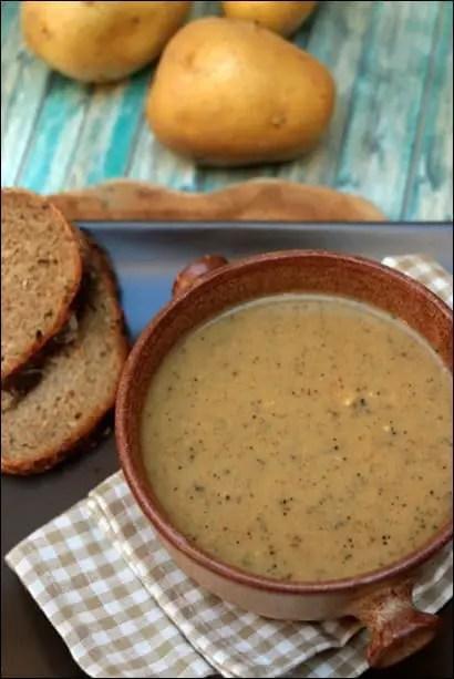 soupe pomme de terre reblochon