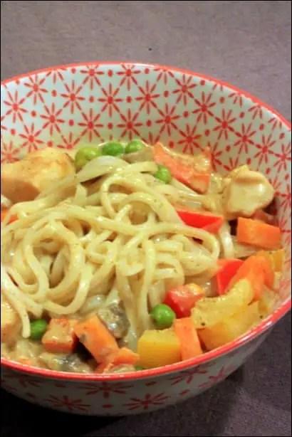 soupe poulet vermicelle