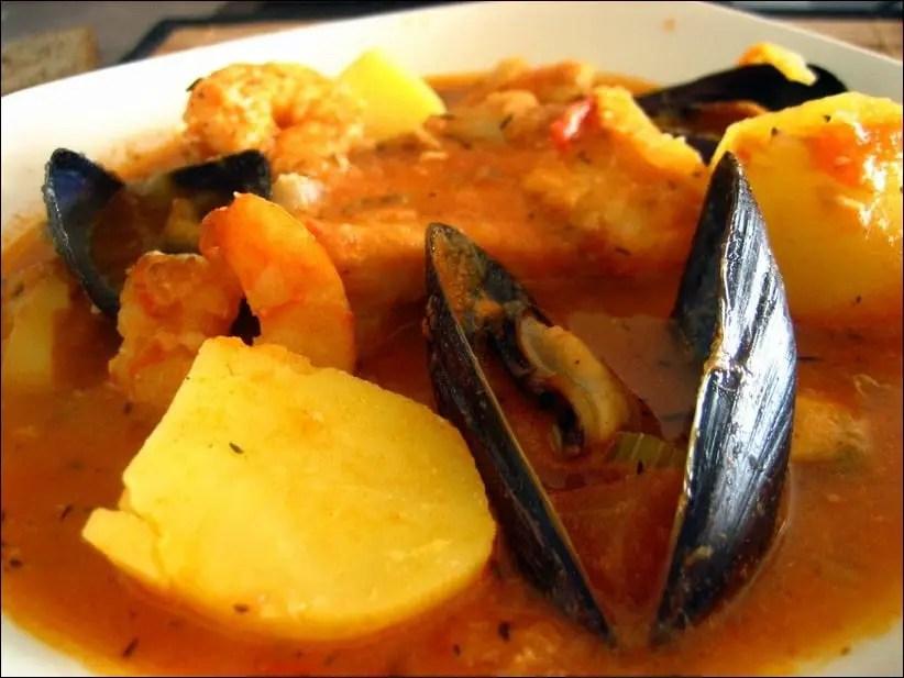 soupe poisson tomate