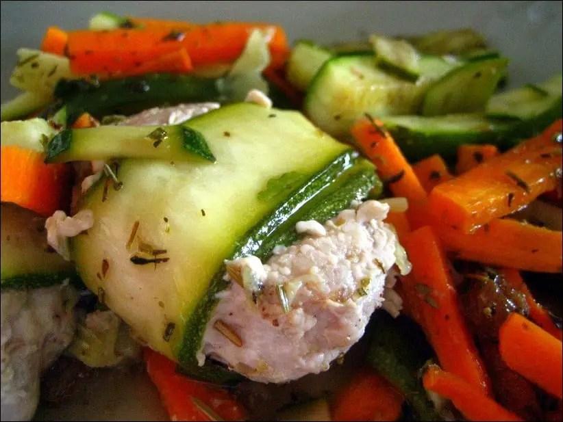 tajine dinde carotte courgette