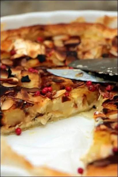 tarte pommes de terre chevre