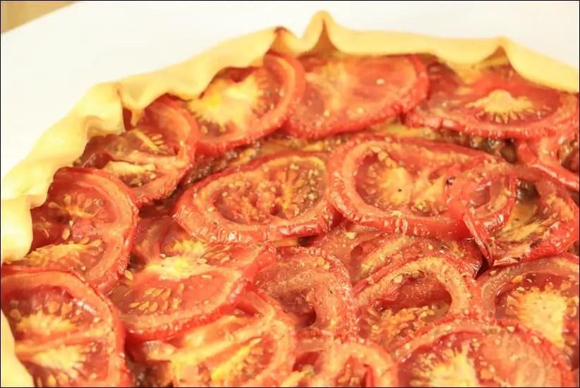 Tarte Au Thon A La Tomate Et Moutarde Happy Papilles