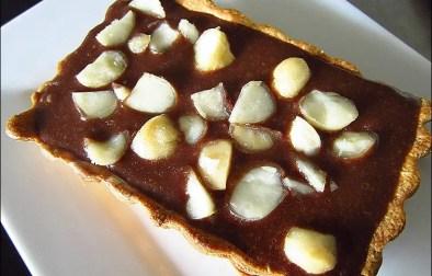 tartelettes au chocolat et noix de macadamia