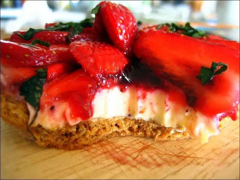 tarte a la fraise mascarpone