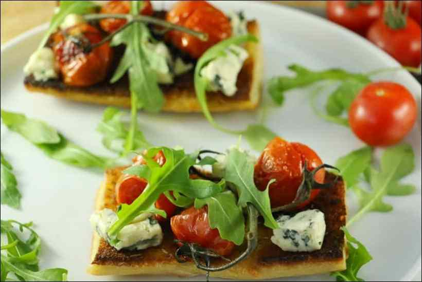 tartines tomates fromage