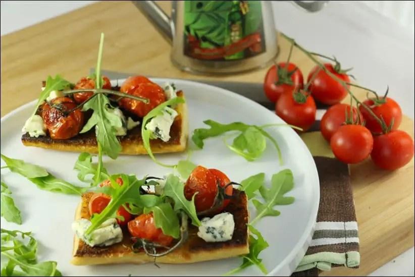 tartine tomate bleu