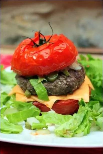 tomate facon burger