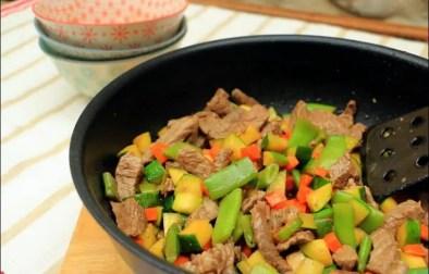 wok boeuf légumes