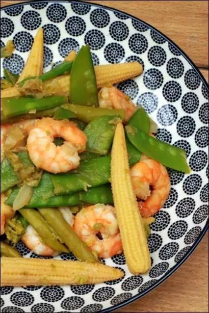 wok crevettes blog