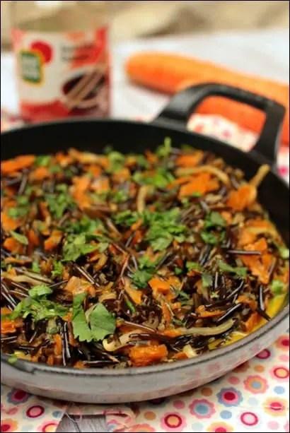 recette wok riz légumes