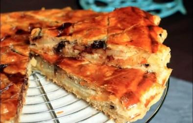 galette des rois à la crème d'amandes poire et chocolat