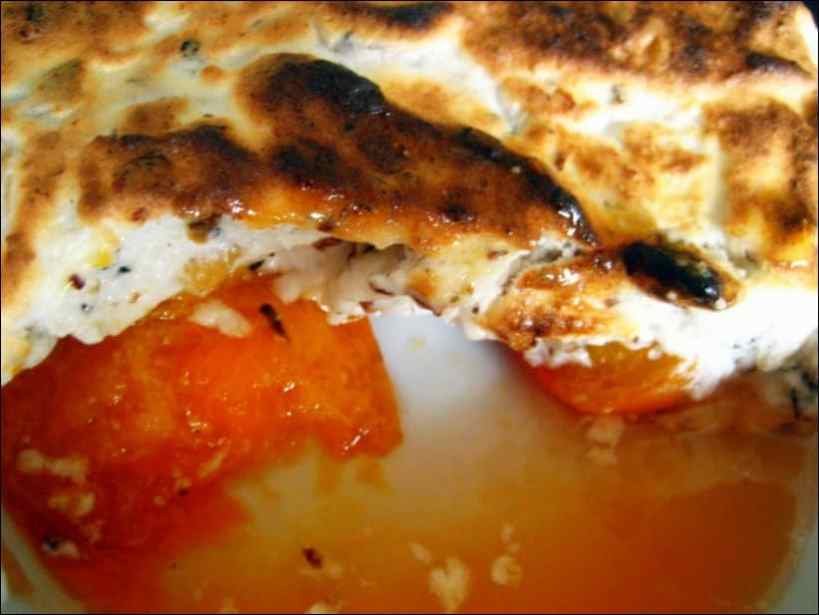 abricot meringuée muscat