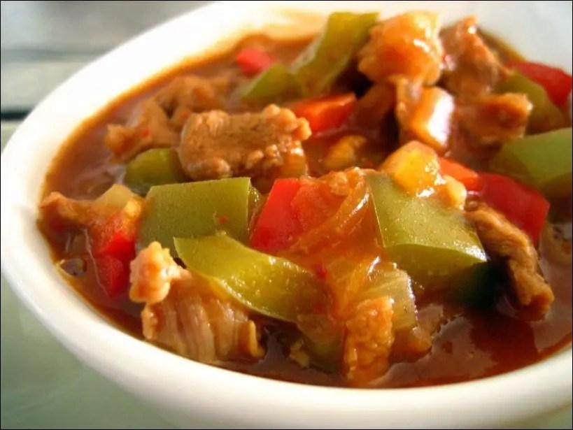 recette axoa de veau tomate