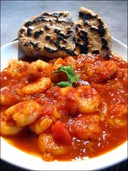 curry de crevette indien