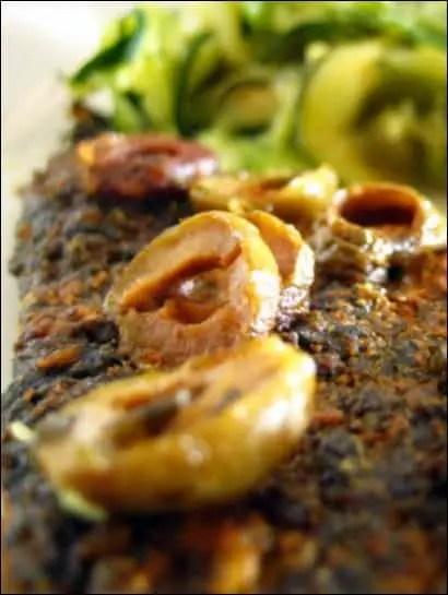 poisson olives vertes