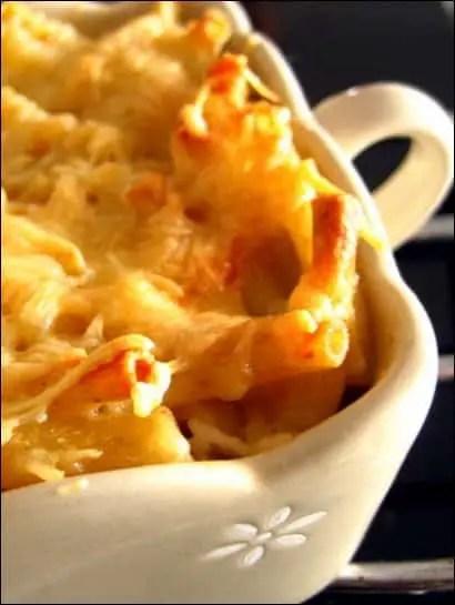 gratin macaroni sans creme