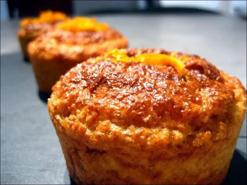 muffin orange avoine