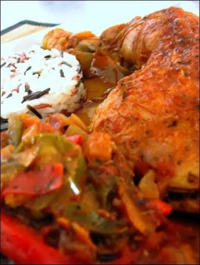 poulet basquaise jambon de bayonne