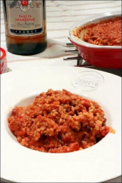 risotto thon tomate