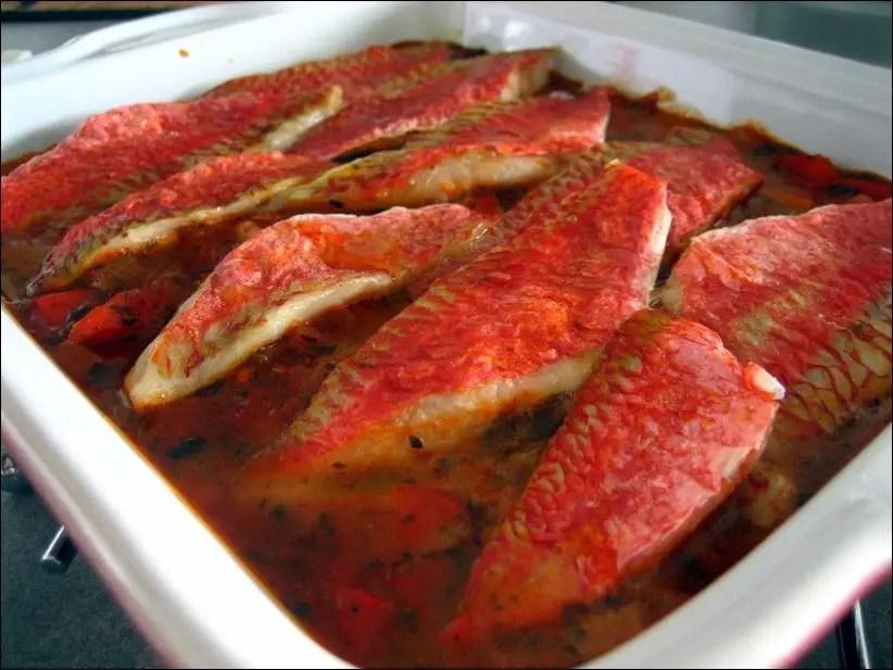 gratin rougets sète