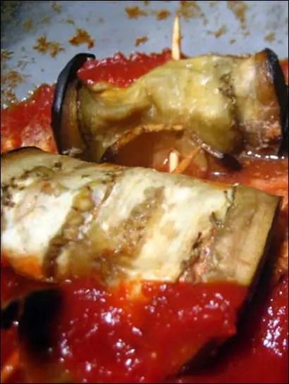 aubergine ricotta parmesan