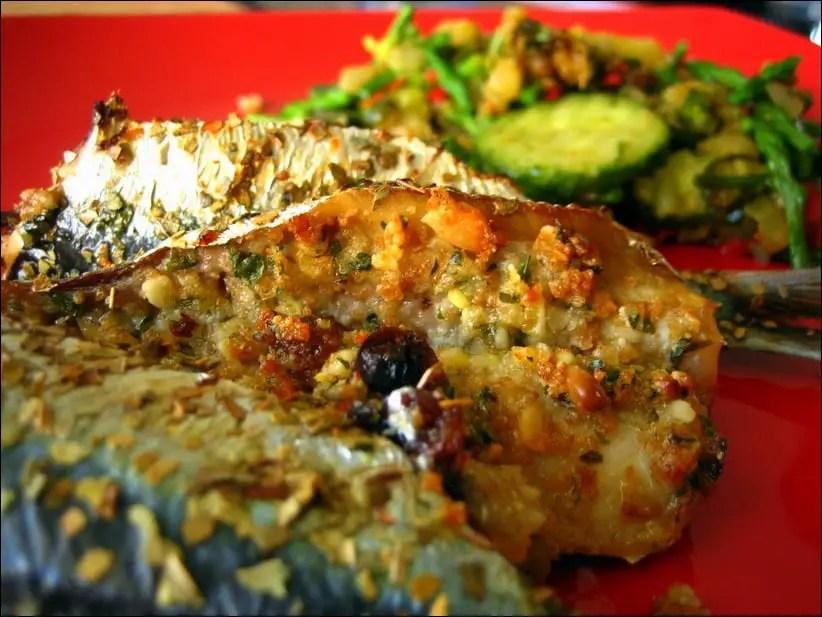 sardines farcies à la palermoise