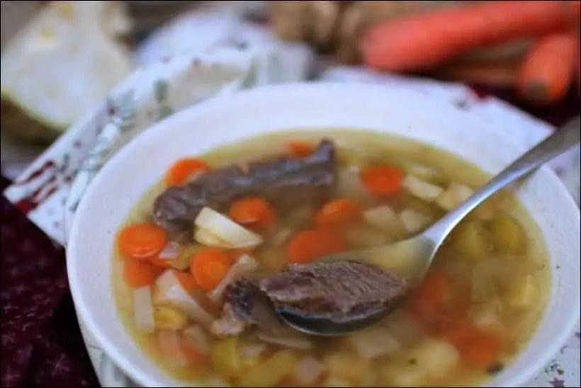 recette soupe joue de boeuf