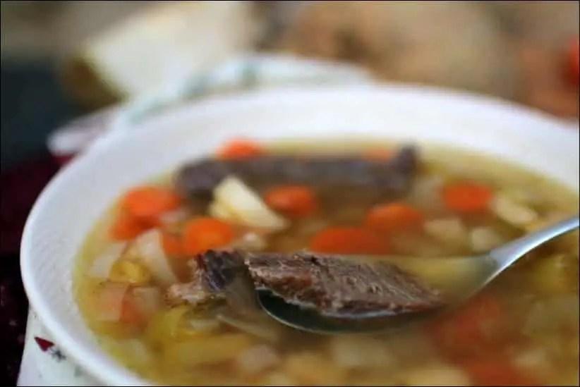 soupe facon pot au feu