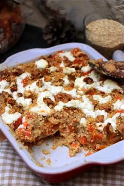 gratin quinoa healthy