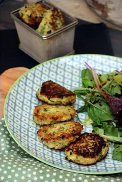 galettes vegetariennes quinoa