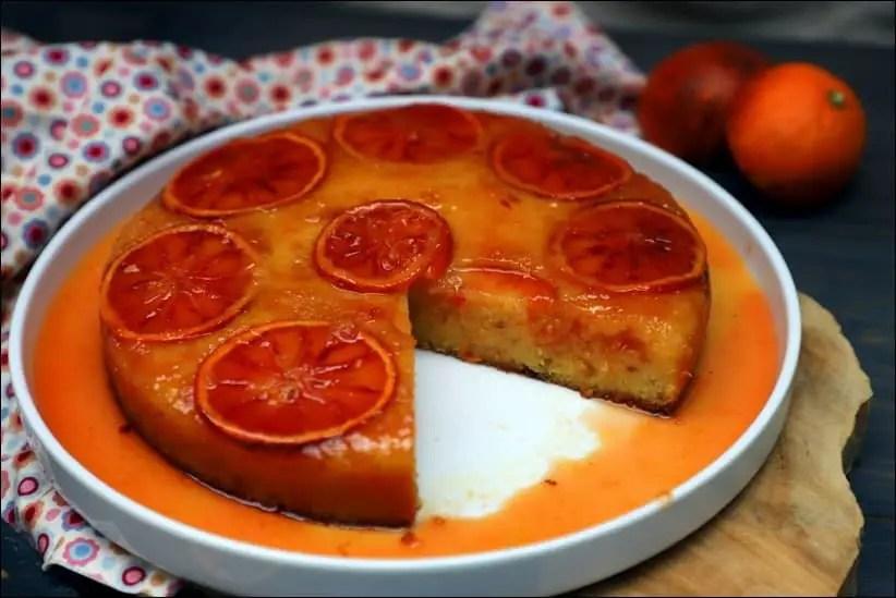 gateau d'orange arrosé