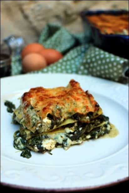 lasagne epinard maison