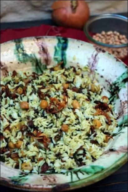 recette riz pois chiche curry