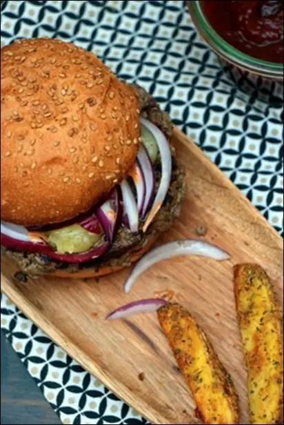 burger boeuf Big Fernand