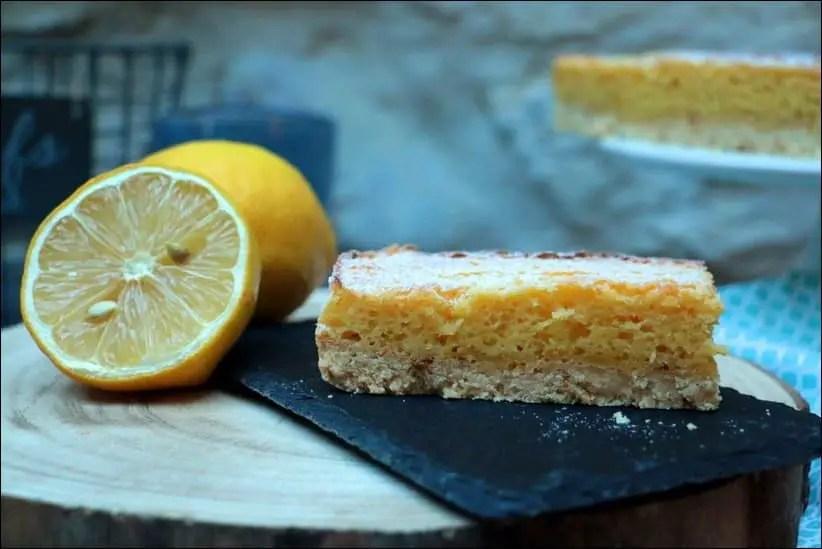 gateau bi couche au citron