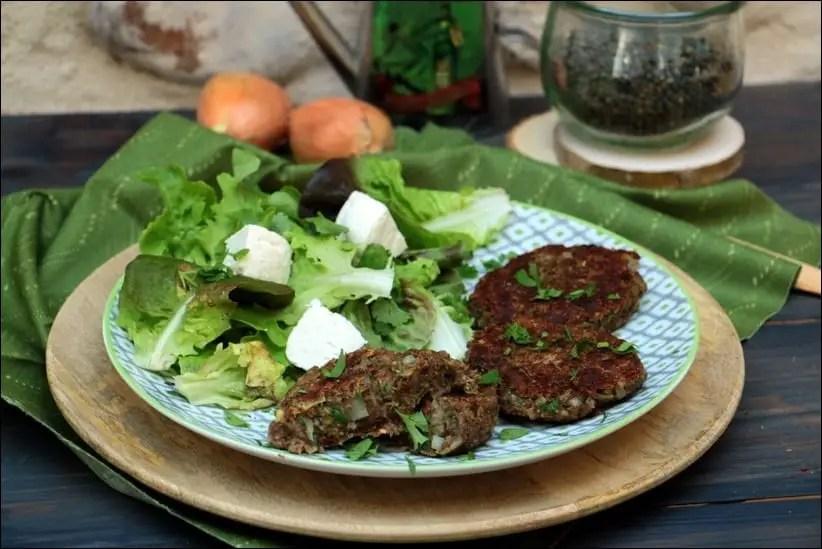 steak végétal lentilles