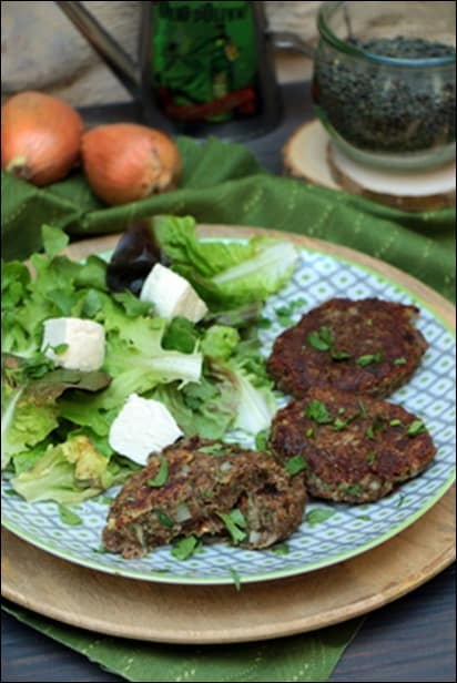 steak lentilles maison