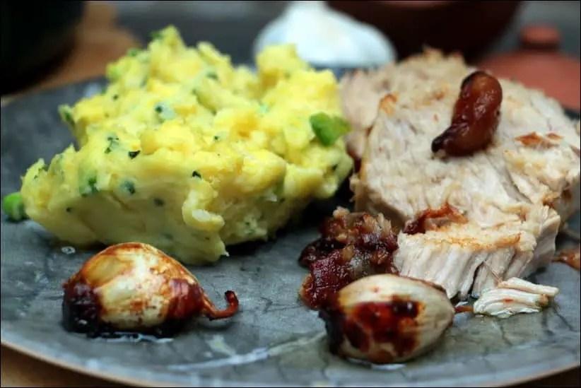 filet porc ail confit