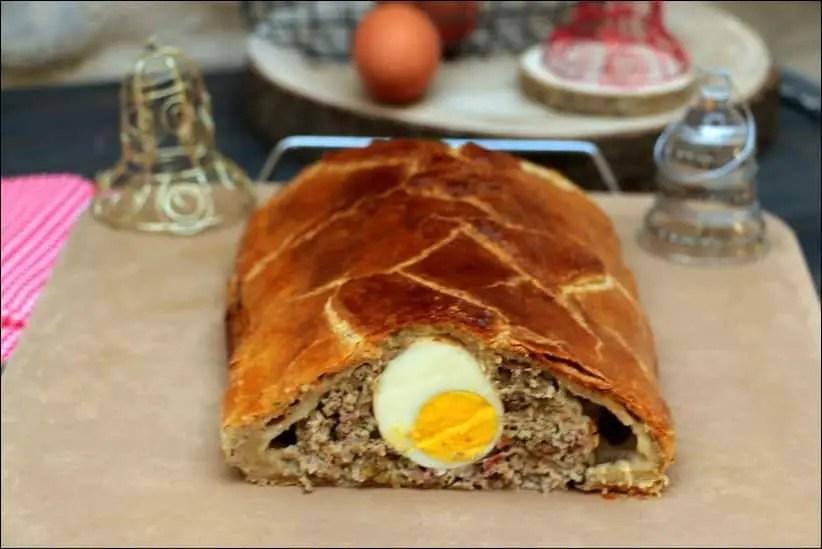 recettes pâté de pâques en croûte