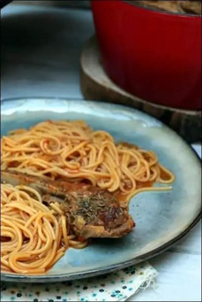 agneau spaghetti de jean francois piege