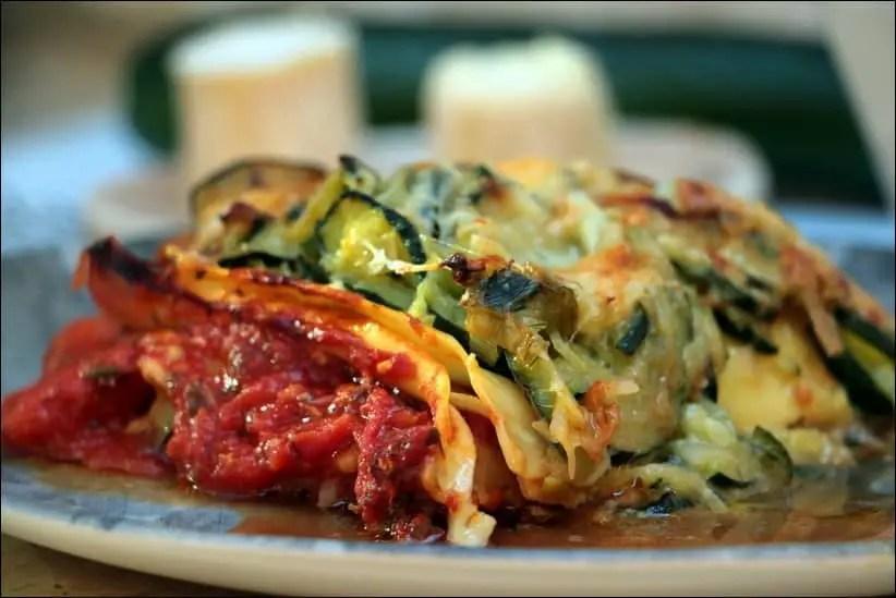 lasagne de courgette sans viande