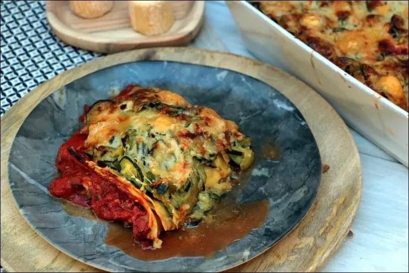 lasagne courgette healthy