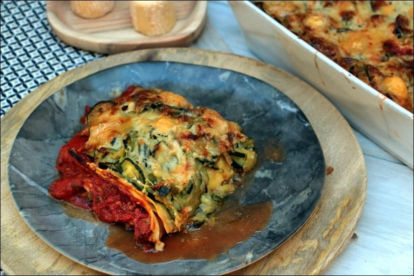 lasagne courgette healthy