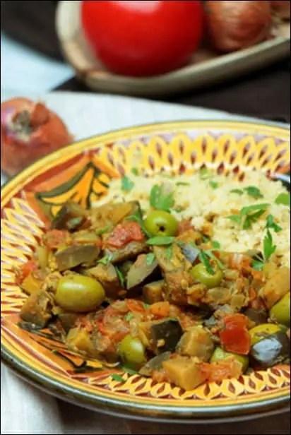 aubergine tomate marocaine